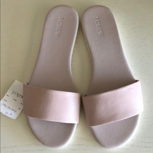 J.Crew Flat Leather Sandals